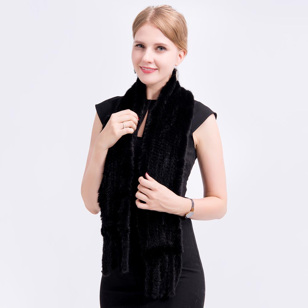 mink fur scarf 12