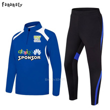 Men sportswear football training suits soccer tracksuits adult long sleeve football uniform sports kit 2017 new(China)
