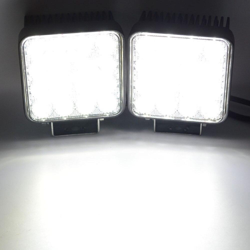 Safego 4 '' 48 W LED Kerja Light Bar 24 V untuk Indikator mobil - Lampu mobil - Foto 4