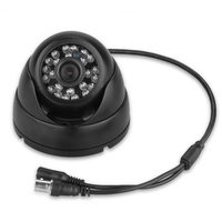 MOOL 4x 1200TVL CCTV DVR Security Camera Waterproof Indoor Outdoor 3.6mm Night Vision