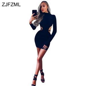 ZJFZML ZZ Sexy Elegant Women Autumn Long Sleeve eb61d2aff0fd