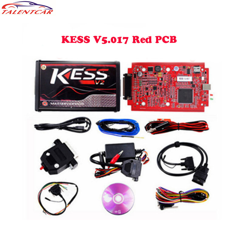 Newest KESS V2 V5.017 RED EU Version SW V2.47 Kess V2 ECU Chip Tuning Online Version KESS 5.017 OBD2 Manager Tuning Kit цены