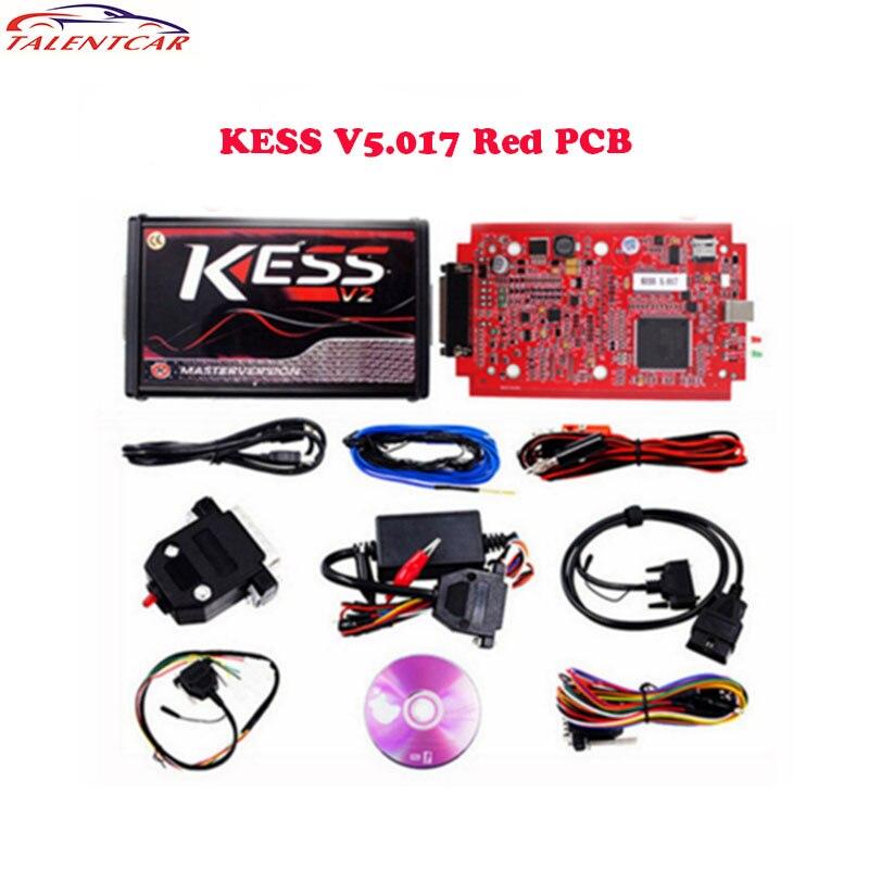 Newest KESS V2 V5.017 RED EU Version SW V2.47 Kess V2 ECU Chip Tuning Online Version KESS 5.017 OBD2 Manager Tuning Kit