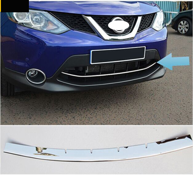 HOT! 2014 2015 2016 FOR Nissan QASHQAI CHROME FRONT LOWER MESH GRILL GRILLE COVER TRIM GUARD MOLDINGHOT! 2014 2015 2016 FOR Nissan QASHQAI CHROME FRONT LOWER MESH GRILL GRILLE COVER TRIM GUARD MOLDING