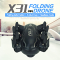 Gyro RTF Mini Folding Quadrocopter Drone 3D Roll 4CH 2.4G 6Axis Aircraft SYX31 Pocket RC Drone Helicopter with LED Light