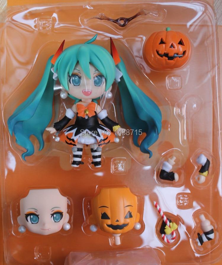 "New Hot Classic Vocaloid Hatsune Miku Halloween Version 448 # PVC 4"" Figure Toys 2"