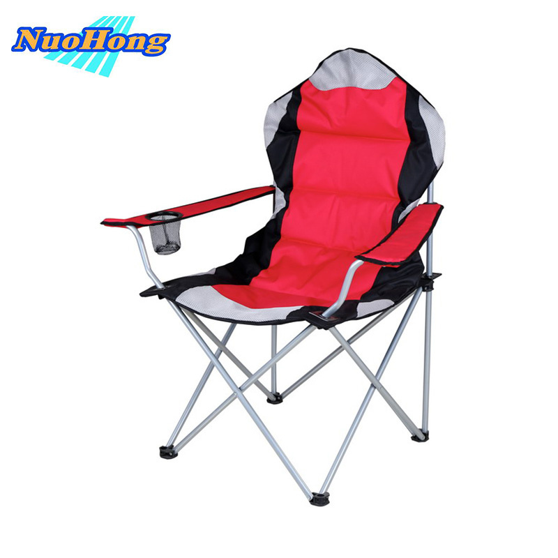 NUOHONG 2017 Folding Fishing Chair Fashion Outdoor Furniture Tourist Camping Chairs Stainless Steel Metal outdoor traveling camping tripod folding stool chair foldable fishing chairs portable fishing mate fold metal chair