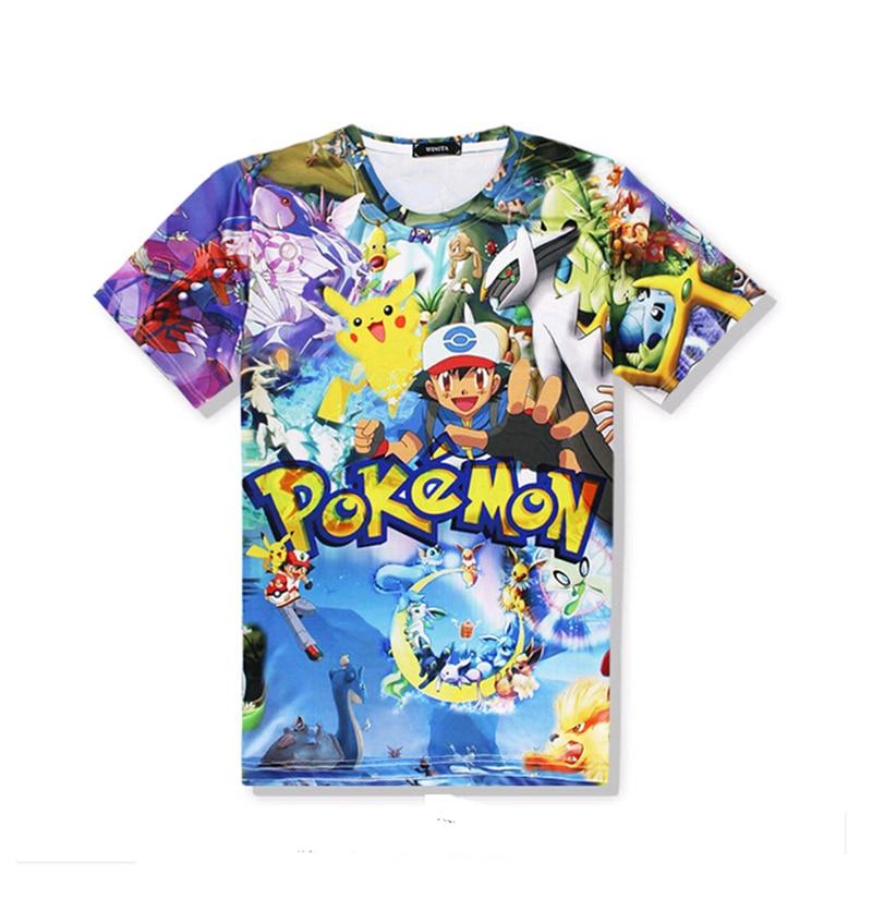 2018-new-summer-style-crewneck-t-shirt-funny-font-b-pokemon-b-font-print-3d-t-shirt-men-women-harajuku-cartoon-tee-tops-free-shipping