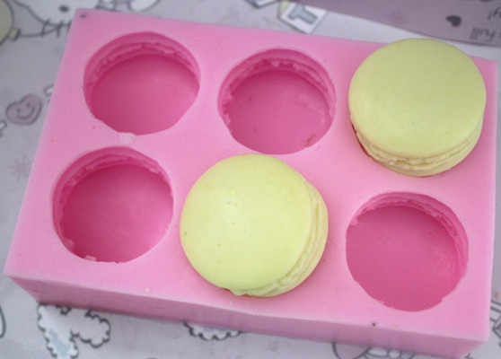 PRZY siliconen macaron hambueger cake chocolade zeep hars jelly candy pudding ice cookie biscuit mallen fondant cake moulds