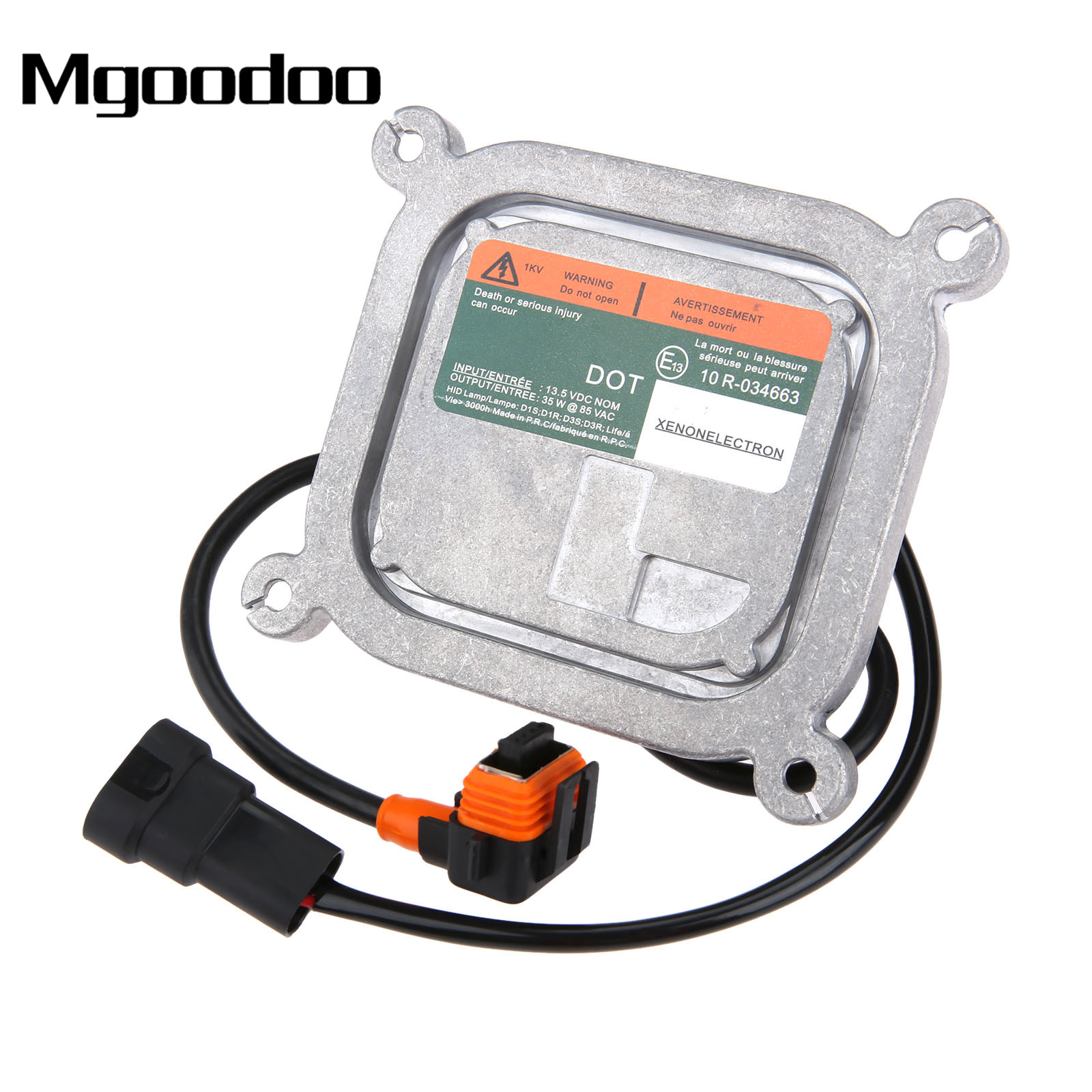 Mgoodoo Xenon HID Headlight Ballast Harness Wiring 10R-034663 AA3857300DG Ww/ Cables For Bulbs D1S/R D3S/R For Ford LincolnMgoodoo Xenon HID Headlight Ballast Harness Wiring 10R-034663 AA3857300DG Ww/ Cables For Bulbs D1S/R D3S/R For Ford Lincoln