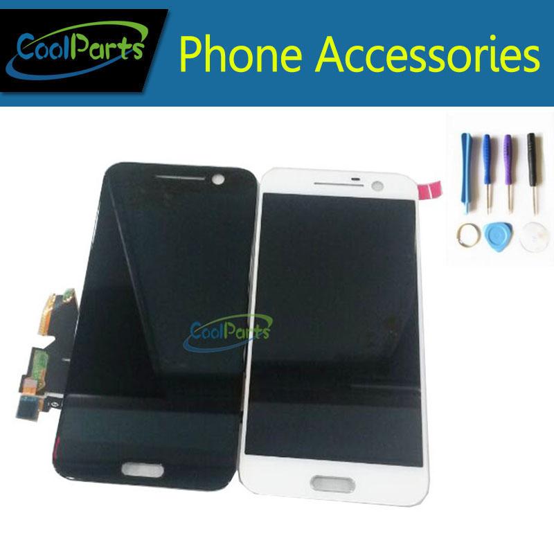 OEM High Quality Black and White color For HTC 10 M10 LCD Display + Touch Screen Digitizer Replacement With Tools 1PC/Lot