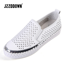 Genuine Leather Womens flat sneakers shoes ladies casual canvas vulcanize shoe Buckle female moccasins loafers oxford footwear