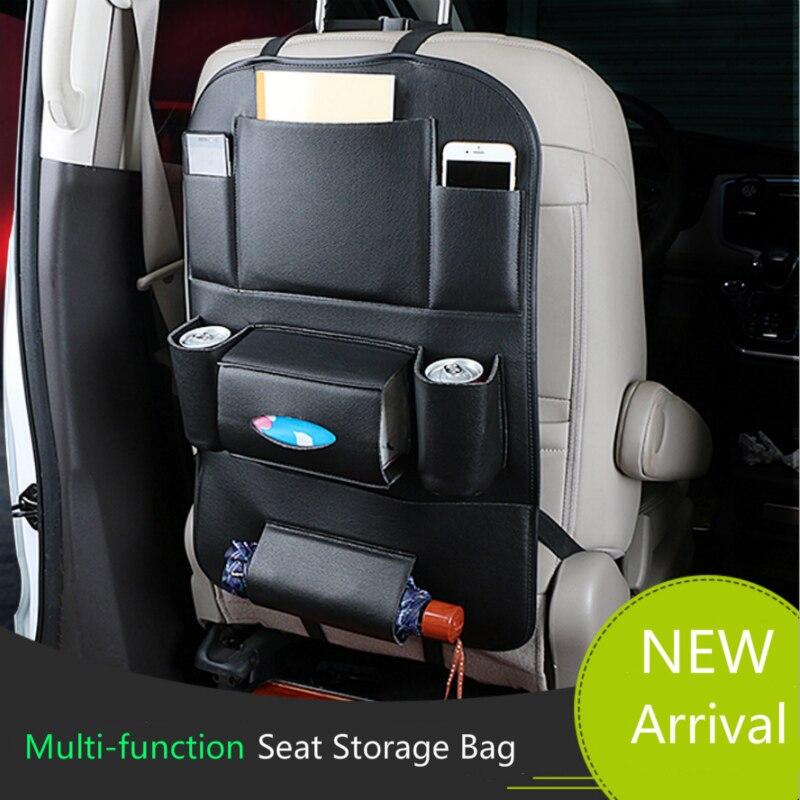 Автомобильный органайзер, сумка для хранения сидений, аксессуары для Toyota Corolla Avensis Yaris Rav4 Auris Hilux Prius Prado Camry 40, Celica Venza