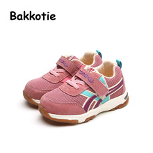 Bakkotie 2017 New Spring Child Breathable Trainer Fashion Sport Mesh Shoe Baby Boy Kid Casual Sneaker Girl Leisure First Walkers
