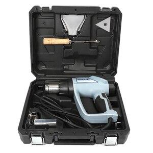 Image 3 - WORKPRO pistola de aire caliente eléctrica para el hogar, 220V, 2000W, Digital, pantalla LCD
