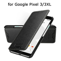 Genuine Leather Cases for Google Pixel 3 XL Case Phone Cover for Fundas Google Pixel 3XL Bag Holder for Google Pixel3 Pixel3xl