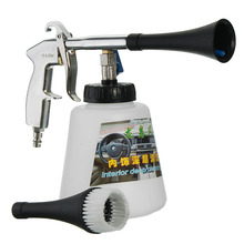 High Pressure Air Pulse Car Cleaning Gun with Brush Multifunctional Surface Interior Exterior Cleaning Kit Hot