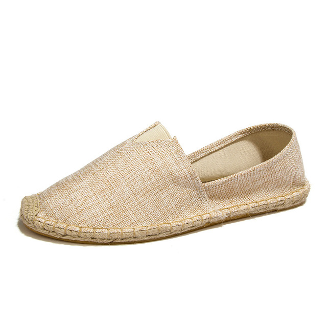 Mùa hè Người Đàn Ông & Phụ Nữ của Căn Hộ Cổ Điển Bộ Nhớ Bọt Đệm Đàn Hồi Mềm Vải Hàng Ngày Slip-On Casual Sneaker Phẳng giày Suk-161
