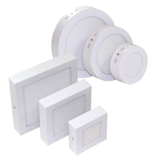 9W 15W 25W Round/Square Surface LED Ceiling Light Panel Light Down Light 85-265V LED indoor Light