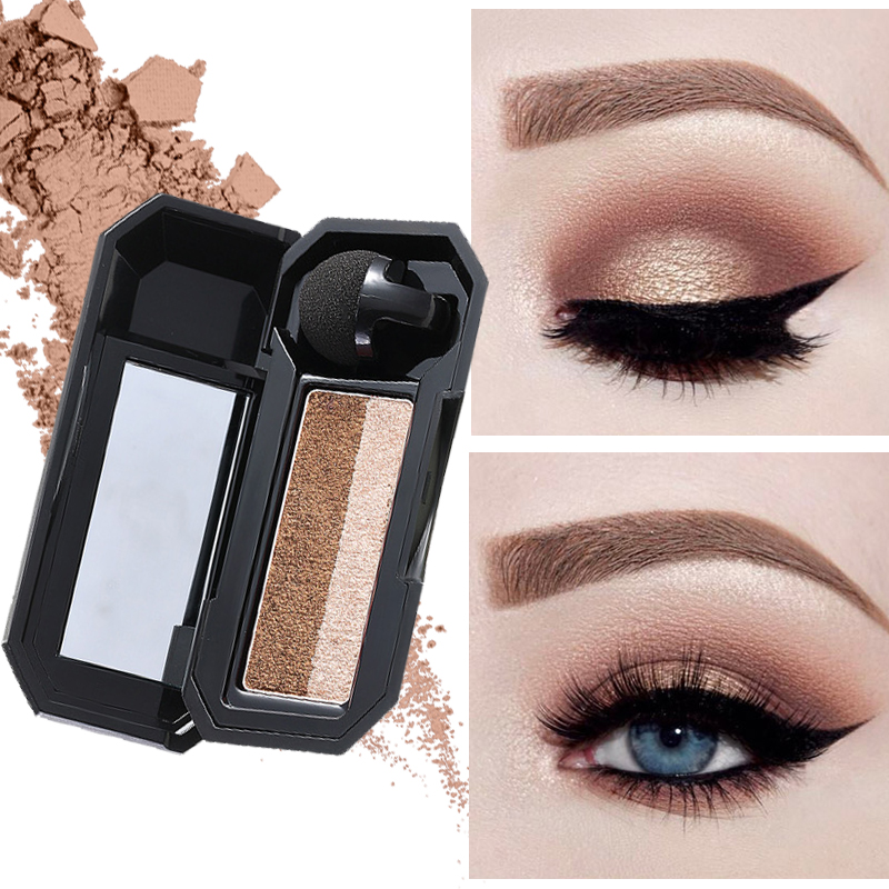 Eye Shadow Beauty & Health Symbol Of The Brand Cosmetics Shimmer Eye Shadow Kit Waterproof Pigment Brown Blue Chocolate Black Color Liquid Glitter Eyeshadow Hot Sale Customers First