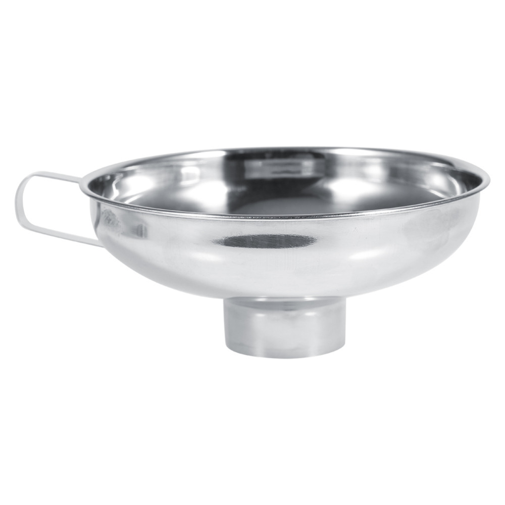 Kitchen Stainless Steel Wide Mouth Funnel Gadget Wide Mouth Canning ...