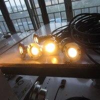 8 pz/lotto In Acciaio Inox 1x1W 1X3W Singolo colore RGB 3in1 IP68 12 V/ 24V LED Subacquea nuoto luci della piscina-in Luci LED subacquee da Luci e illuminazione su