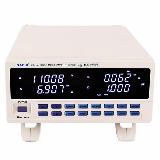 PM9816 новый бренд trmc AC/DC напряжение тока фактор мощности и счетчик электроэнергии 600 В, 25А