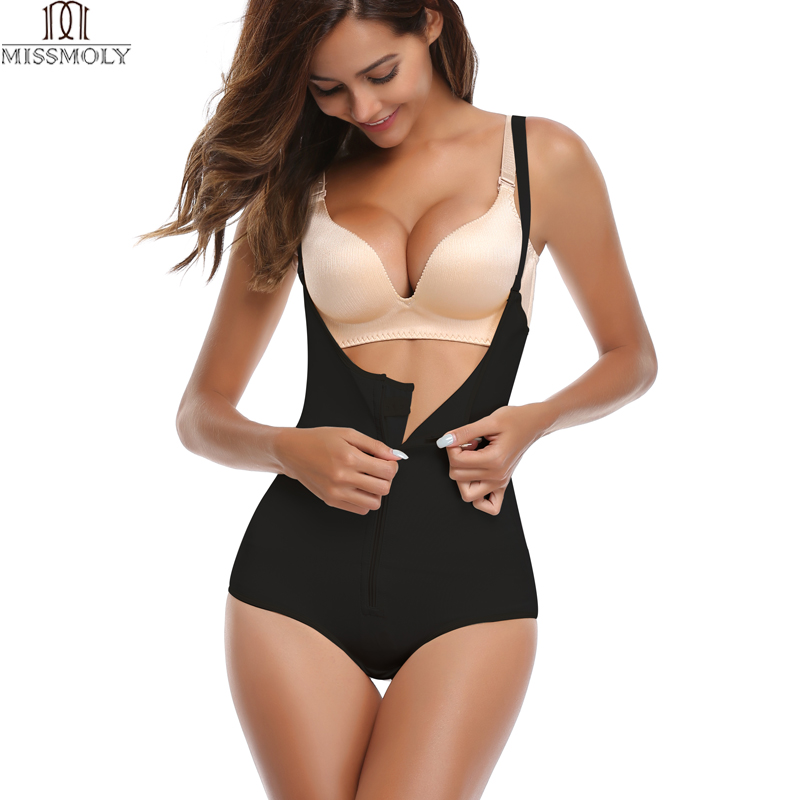62903631265c4 Fajas Reductoras Colombianas Post Surgery Slim Women Girdle Body Shaper  LATEX Corset Shapewear Waist Trainer Slip Suit Powernet-in Bodysuits from  Underwear ...
