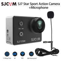 SJCAM SJ7 Star 4K 30fps HD Wifi 12MP Sport Action Camera 30M Waterproof 2.0″ Touch Screen 166 degree View Angle + Microphone
