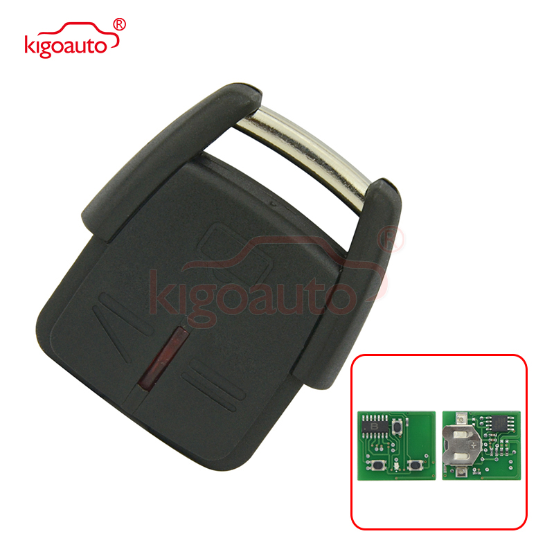 24424728 <font><b>car</b></font> remote <font><b>key</b></font> fob 3 button 433.9Mhz for Vauxhall Opel Omega B Astra Zafira Frontera Vectra C kigoauto image