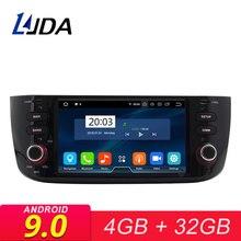LJDA Android 9,0 Автомобильный мультимедийный плеер для Fiat Abarth Punto EVO Linea 2012-2015 стерео радио GPS Восьмиядерный головное устройство Autoaudio