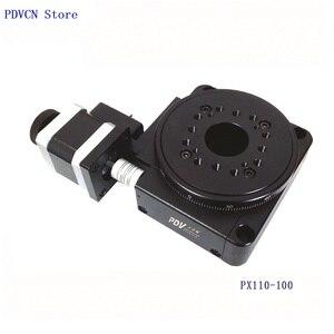 Image 4 - Étape rotative électrique PDV PX110 100, étape de Rotation motorisée, plate forme rotative électrique, bureau rotatif de précision