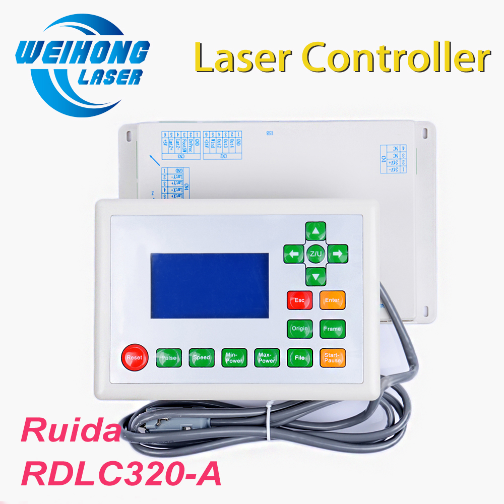 все цены на Ruida RDLC320-A Co2 Laser DSP Control System for Co2 Laser Cutting and Engraving Machine онлайн