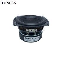 TONLEN 4 Inch Subwoofer Speaker 4 Ohm 8 Ohm 40 W HIFI Bass High Power Speaker