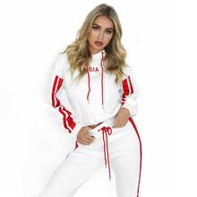 ZOGAA 2019 New Spring Fashion Sports Ladies Suit Casual Sweatsuit Comfortable Jogging