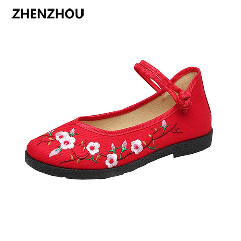 zhen zhou 2017 spring and autumn women's new fashion trend leadership Old Beijing cloth shoes China's windexemption from postage zhou jianzhong ред oriental patterns and palettes cd rom