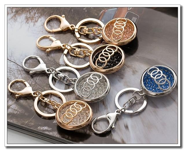 Free Shipping Audi Car Keychain Factory Price High Grade Fashion