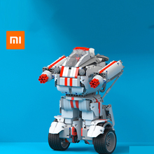 xiaomi  intelligent building block deformation robot mobile phone remote control car people DIY charging educational toys