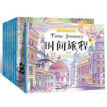 Libros de colorear para adultos, 8 volúmenes, 24 libros de arte de dibujo de cuento de hadas abierto para niños para aliviar el estrés y matar el tiempo