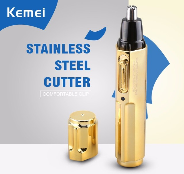 Modern Fashion Electric Nose Hair Trimmer for Man and Woman