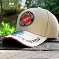 HAN WILD Brand US Marines Caps Mens Golf Cap Closed Snapback Tactical Baseball Caps Mountaineer Travel Hiking Sun Hat Visors