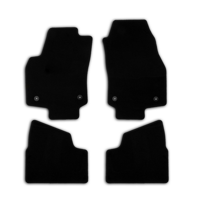 Mats in salon Klever Econom For OPEL Astra H 5D 2004-2015, хб... 4 PCs (textile) h mohr zigeunermusik op 36