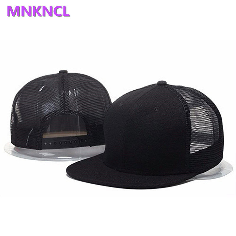 2017 New Styles Blank Mesh Camo Baseball Caps Black Hip Hop Hats Mens Women Casquettes Bboy Gorras Bones Snapback Solid Hat 2017 new fashion brand breathable v ring black snapback caps strapback baseball cap bboy hip hop hats for men women fitted hat