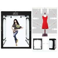 200cm Photo Tent Tabletop Shooting LED Lighting Softbox Portable Studio Box for Adult Model Portrait Clothes Guitar Furniture