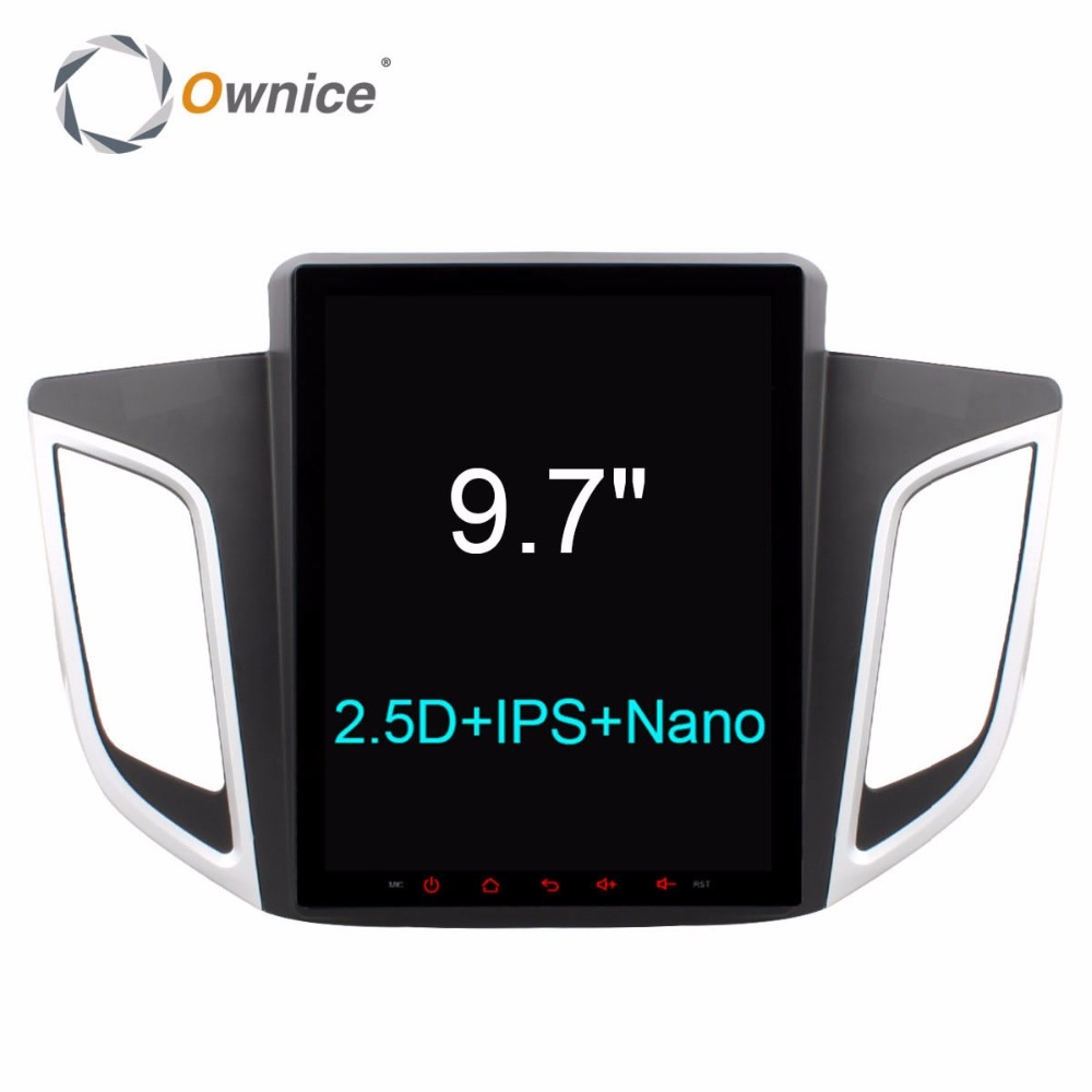 Android 6.0 Octa Core 2GB RAM+32GB ROM 9.7 inch Car DVD Player for Hyundai IX25 2014 2015 2016 GPS Navi Radio Stereo 4G SIM LTE