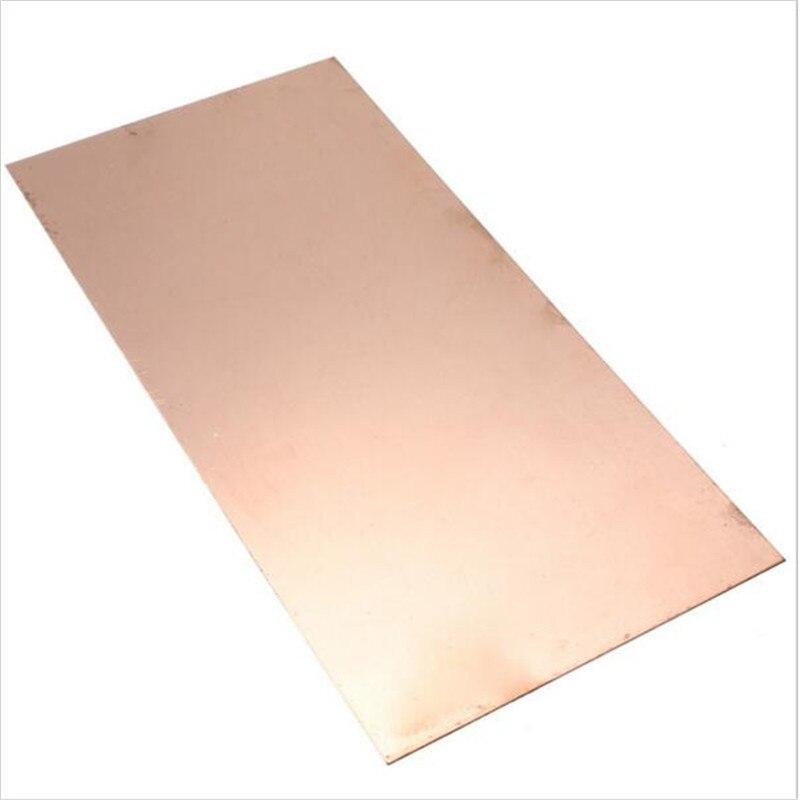 99.9% Pure Copper Cu Metal Sheet Plate Foil Panel 270*110*1.5mm madona cu pruncul cu