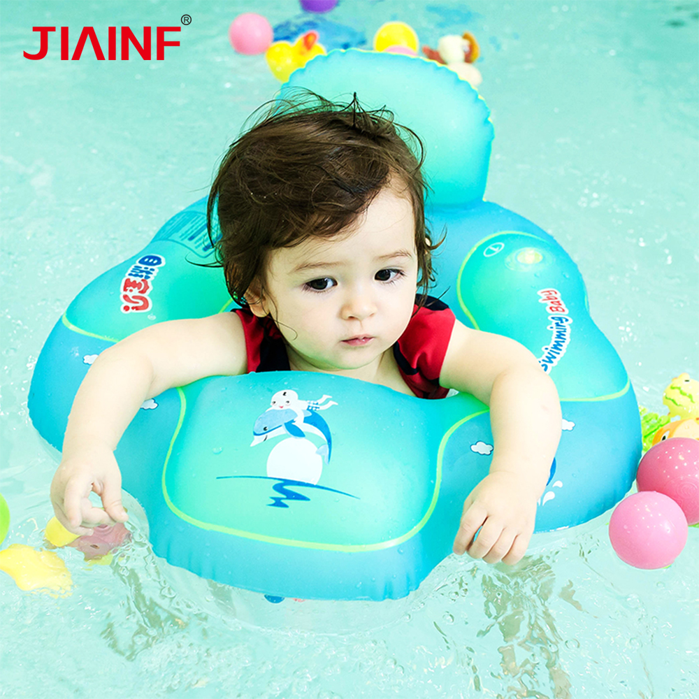 Baby Sitting Swimming Ring Inflatable Infant Armpit Floating Kids Swim Pool Accessories Children's Swimming Circle