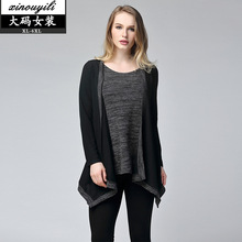 2016 large size autumn and winter sweatshirts women's new 5X