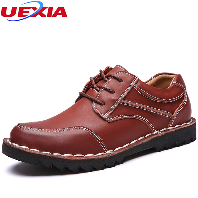 New Hand sewing lines Rubber sole Soft Leather Flats Casual Man Shoes Adult Quality Autumn Walking Breathable Footwear Moccasins whensinger 2017 new women fashion boots genuine leather fashion shoes rubber sole hands sewing 2 color 7126