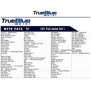 Image 5 - HOBBYINRC 64G True Blue Mini Crackhead Pack 101 Spiele + 64G Meth Pack 101 Spiele + 32G kampf Pack 58 Spiele für PlayStation Klassische